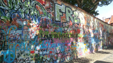 John Lennon Wall | 1pragueguide.com