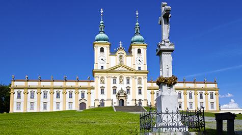 The Holy Trinity Column in Olomouc