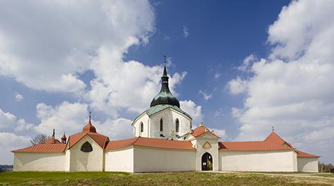 The Pilgrimage Church of St. John of Nepomuk at Zelená Hora