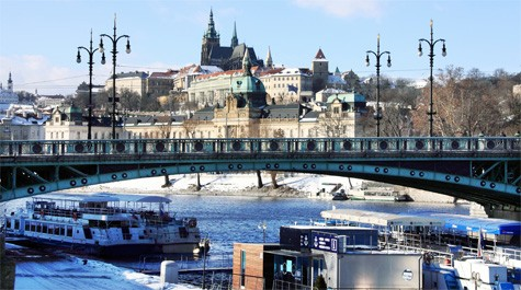 Prague embankments