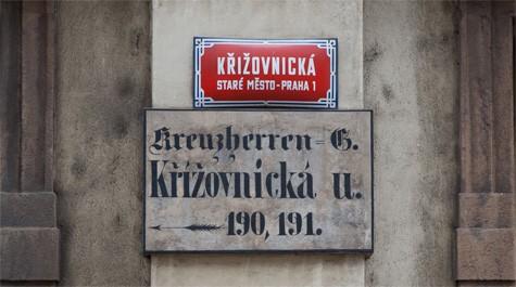 Křižovnická street