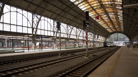 Prague Main Train Station