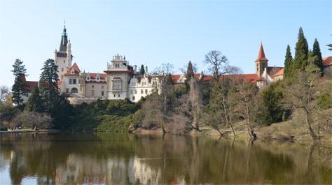 Pruhonice Chateau