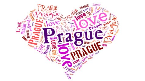 St. Valentine's day in Prague